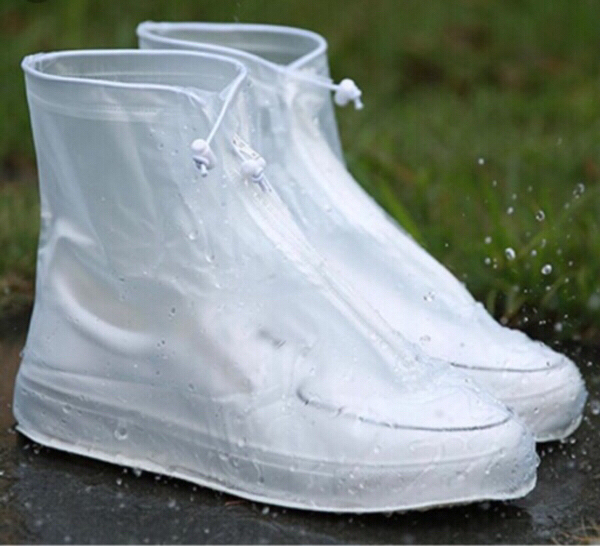 Used Reusable Ant-Mud Shoe Covers White in Dubai, UAE