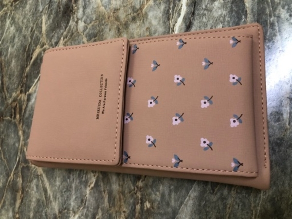 Used Wallet +Phone bag brand new in Dubai, UAE