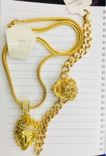 Used Brand New plated gold men jewelry in Dubai, UAE