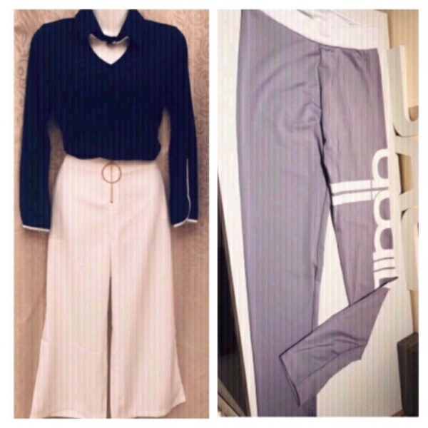 Used Ladies fashion 2pcs suit S & sport pants in Dubai, UAE