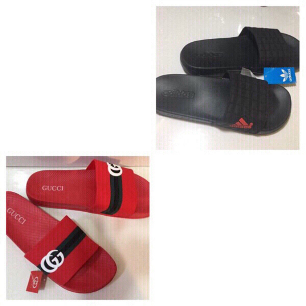 Used Offer deal:2 pairs slippers size 43, new in Dubai, UAE