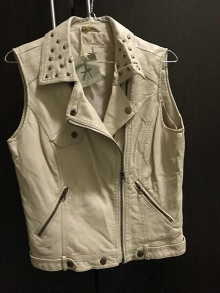 Used Leather vest Atmosphere new in Dubai, UAE