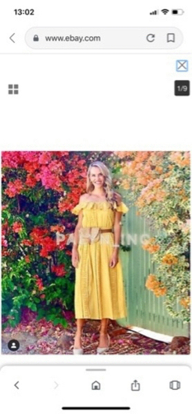 Used Long embroidered dress by Zara in Dubai, UAE