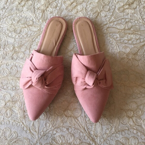 Used Dorothy Perkins pointy mules (size 39) in Dubai, UAE