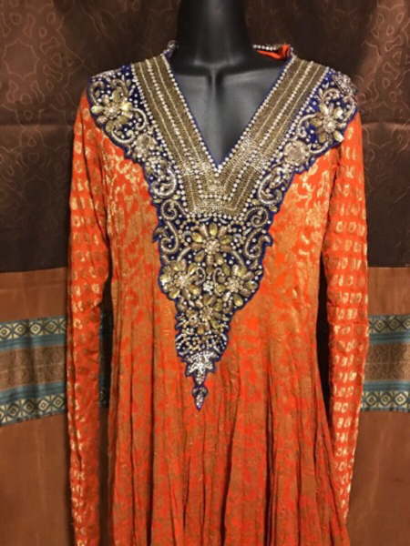 Used 249 only Party dresss crystal work in Dubai, UAE