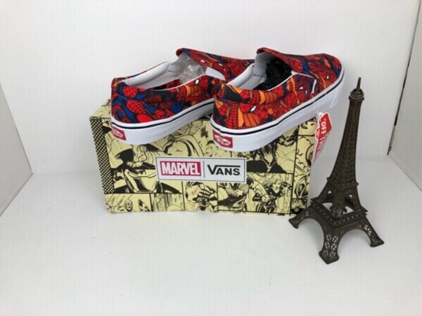 Used Vans Marvel Edition Spider-Man free sock in Dubai, UAE