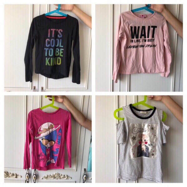 Used 8 Branded Tops for girls in Dubai, UAE
