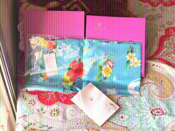Used New 100% Mulberry Silk scarf ,WHO'S BABY in Dubai, UAE