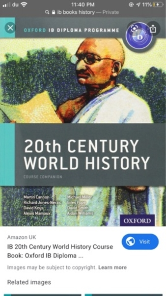 Used IB HISTORY BOOK in Dubai, UAE