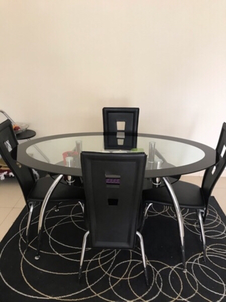 Used Dining Table Set from Home Centre. in Dubai, UAE
