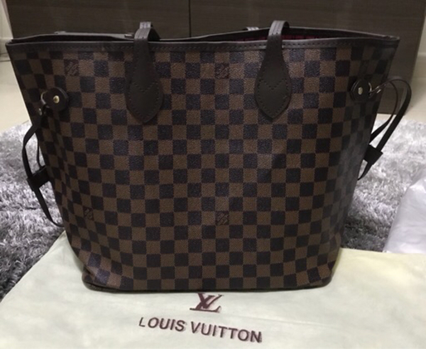 Used LV Neverfull brown in Dubai, UAE