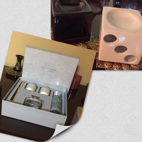 Used Laura Ashley scent candles + oil burners in Dubai, UAE