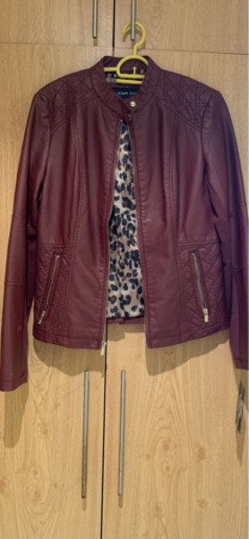 Used Leather jacket - size XS in Dubai, UAE