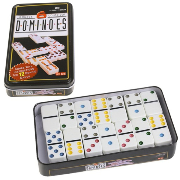 Used DOMINOES (Double 6 Color Dots) in Dubai, UAE