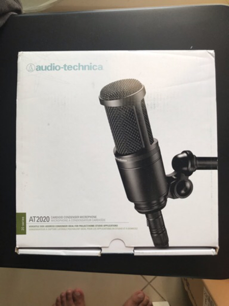 Used Audio Technica AT2020 in Dubai, UAE