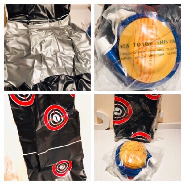 Used Inflatable boxing bag kids in Dubai, UAE