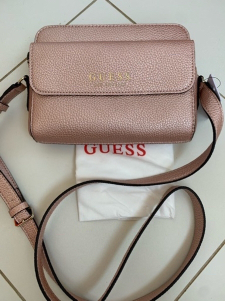 Used Guess sling bag+ring+adidas capri in Dubai, UAE