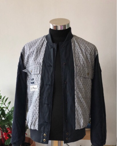 Used Suit Supply Coat Bomber Navy Blue/S in Dubai, UAE