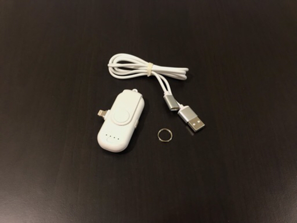 Used NEW Magnetic Charger / Power Bank White• in Dubai, UAE