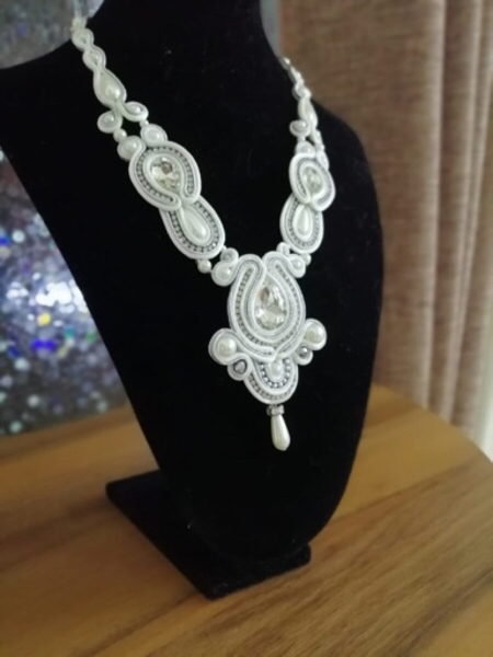 Used Handmade necklace and earrings #3 in Dubai, UAE