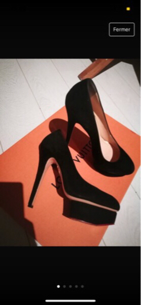 Used Authetic Louis Vuitton High Heels. in Dubai, UAE