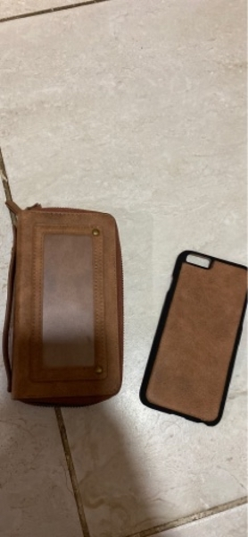 Used Wallet with iPhone 6 Case in Dubai, UAE