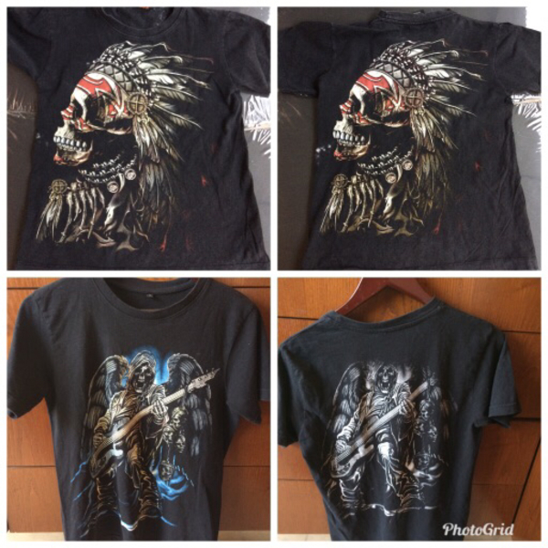 Used Glow in the dark T-shirt's  in Dubai, UAE