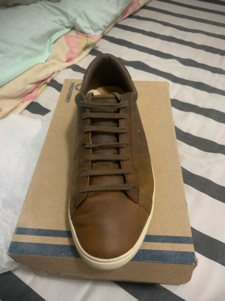 Used Fred Perry Spencer Leather in Dubai, UAE