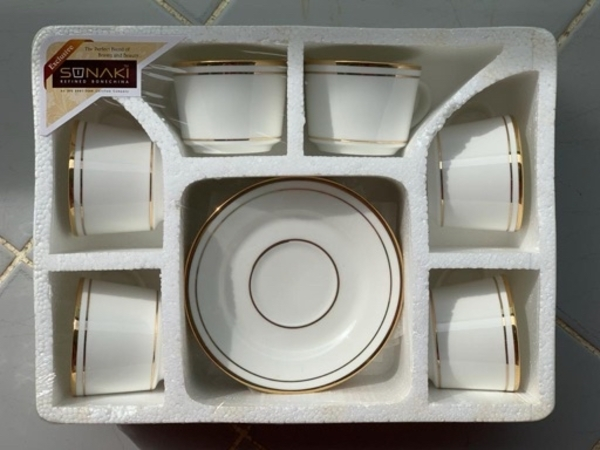 Used 2 New 6 Pcs Cups & Saucer Sets For Sale in Dubai, UAE