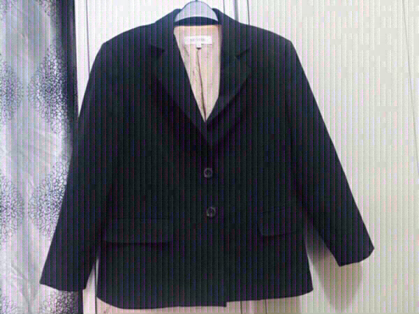 Used Black coat (L)office wear, used like new in Dubai, UAE