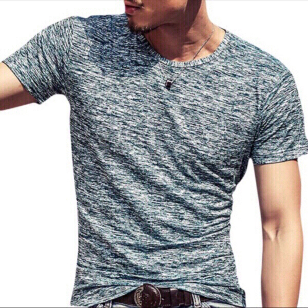 Used 2 Men's fashion T-Shirts size 2XL in Dubai, UAE