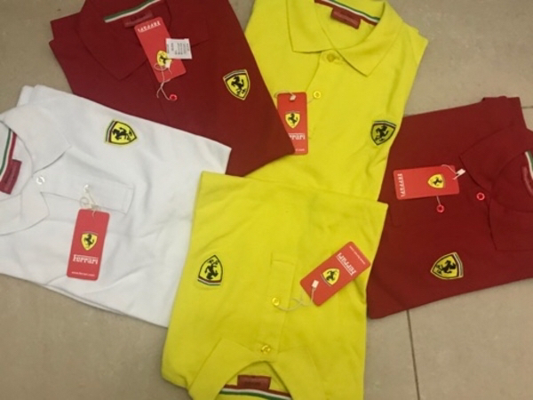 Used 2pcs asstd.polo shirts in Dubai, UAE