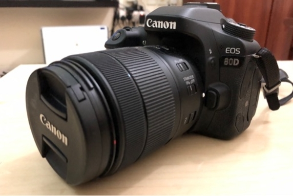 Used Canon 80D with 18-135mm Lens in Dubai, UAE