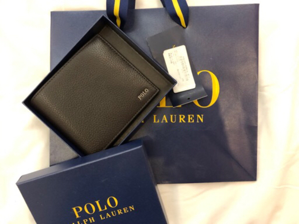 Used Authentic ralph lauren polo wallet in Dubai, UAE