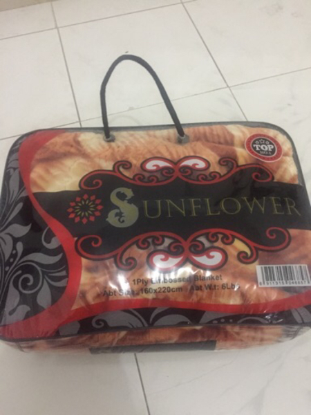 Used Sunflower blanket in Dubai, UAE