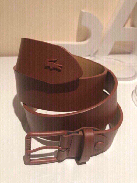 Used Lacoste belt brown 95/38 L in Dubai, UAE