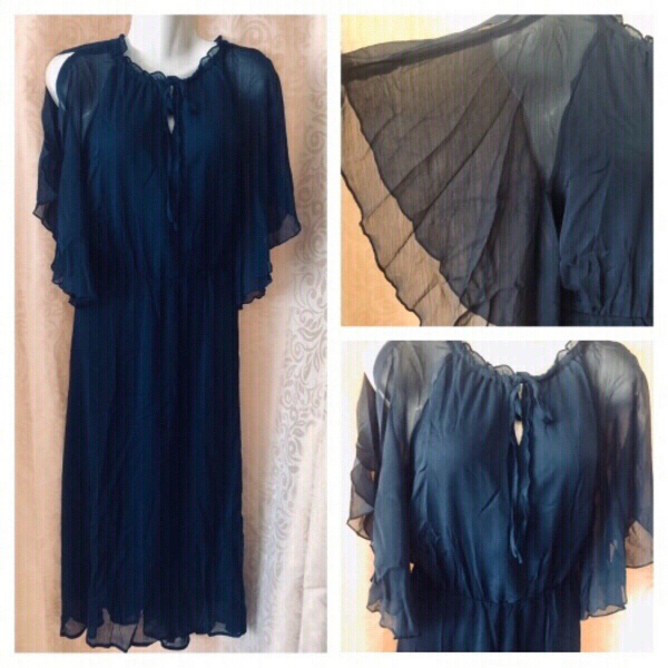Used Chiffon dress size XL SE'MIU in Dubai, UAE