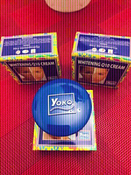 Used 3 Yoko whitening Q10 cream 💙 in Dubai, UAE