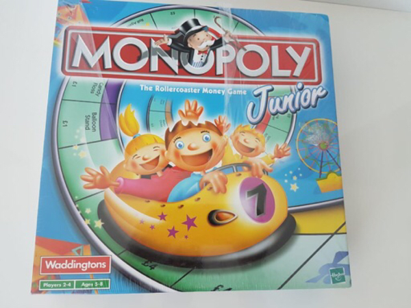Used Monopoly juniors big by Waddingtons in Dubai, UAE