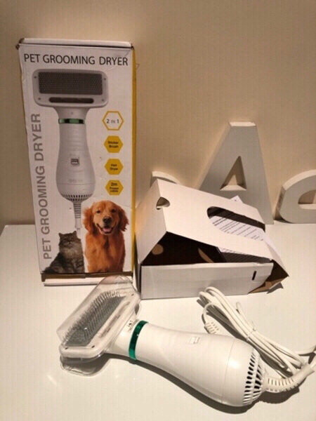 Used Pet grooming dryer & hair removal brush in Dubai, UAE