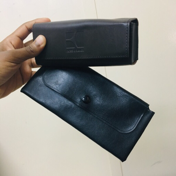 "Used Glass cases ""Boss Orange"" and Leather in Dubai, UAE"