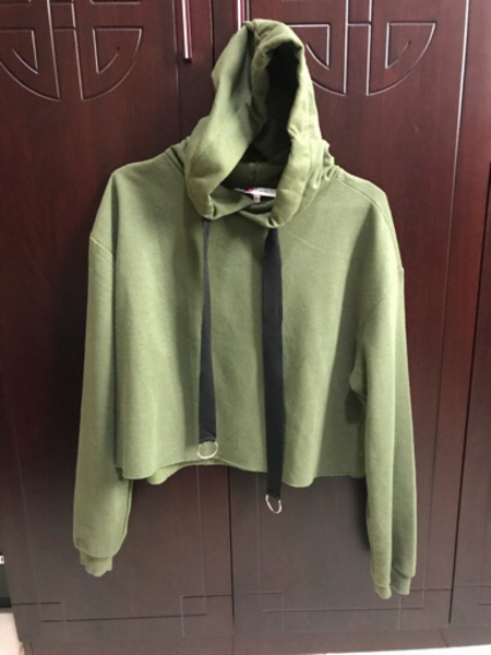 Used Cropped Hoodie from Kotton. in Dubai, UAE