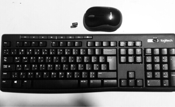 Used LOGITECH wireless mouse and keyboard in Dubai, UAE