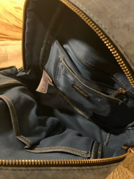 Used Aldo backpack used in Dubai, UAE