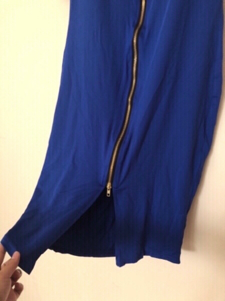 Used NEW Ladies' Dress LARGE Royal Blue in Dubai, UAE