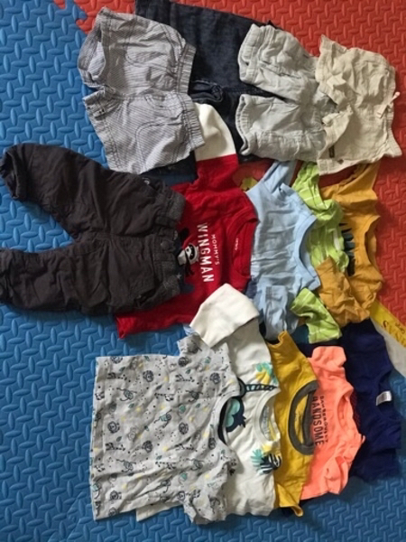 Used Boy/Bundle mixed branded clothes in Dubai, UAE