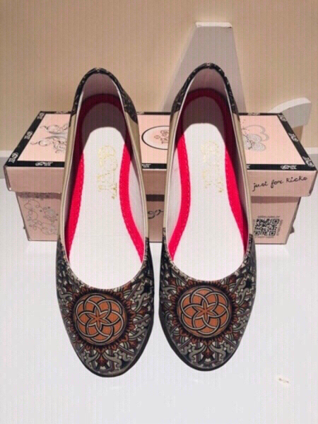 Used Goby flat shoes size 38 in Dubai, UAE