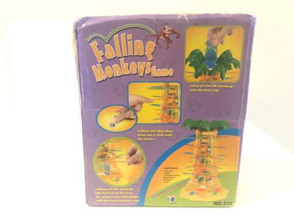 Used NEW Monkey Tumble Game Yellow Toys in Dubai, UAE