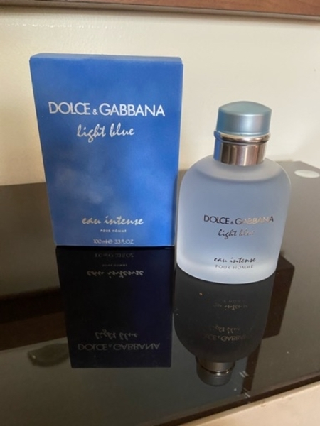 Used D&G Light blue eau intense 100ml in Dubai, UAE