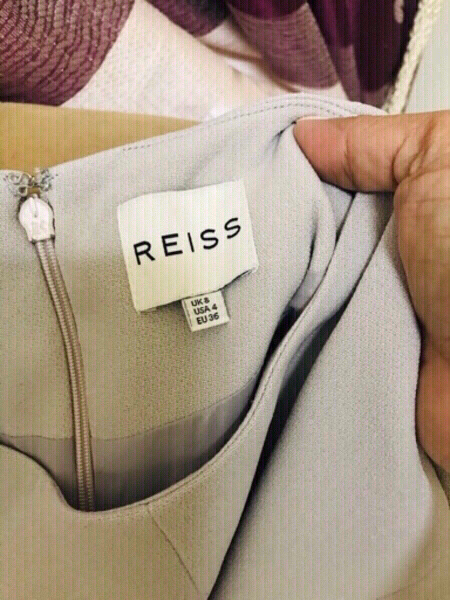 Used REISS Brand Top grey color❤️ in Dubai, UAE